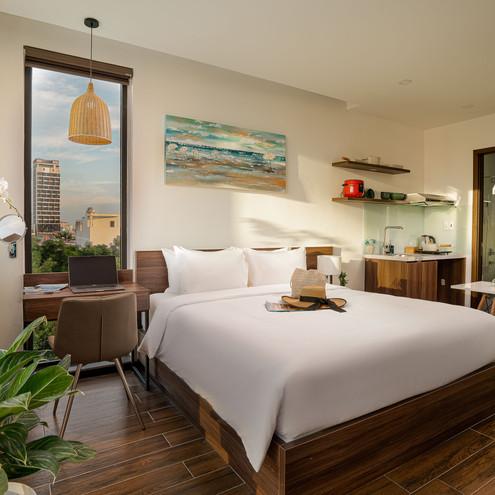 Khám phá Dragon View Riverfront Hotel - khách sạn căn hộ tiện nghi giữa lòng Đà Nẵng