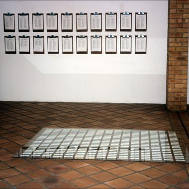 Garden of Words I Willem Boshoff Exh1023