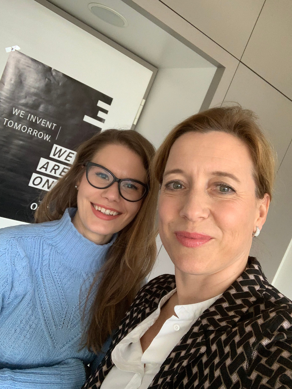 Giulia and her mentor, Sabine