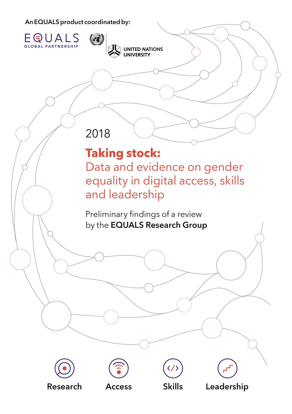Cover of EQUALS 2018 preliminary research report
