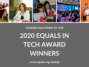 2020 EQUALS in Tech Award winners are working toward a bright digital future for everyone
