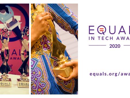 Meet the 2020 EQUALS in Tech Award Finalists
