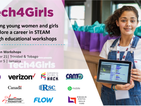 EQUALS Global Partnership coalition launches Caribbean Tech4Girls skills-building workshops