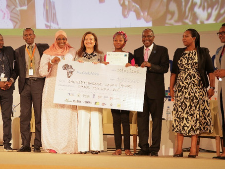 Miss Geek Africa promotes Girls in ICT at Transform Africa Summit