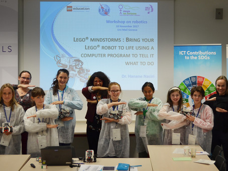 Hundreds of girls expand their horizons with hands-on STEM experiences in Geneva