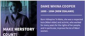 Maori elder Dame Whina Cooper
