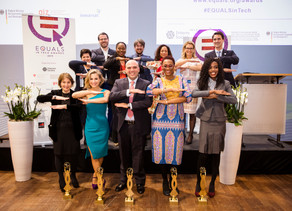 PRESS RELEASE EQUALS in Tech Awards celebrate five outstanding initiatives to promote digital gender