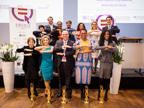 EQUALS in Tech Awards celebrate five outstanding initiatives to promote digital gender equality