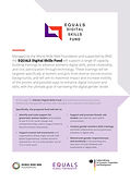 cover-EQUALS Digital Skills Fund Flyer_D
