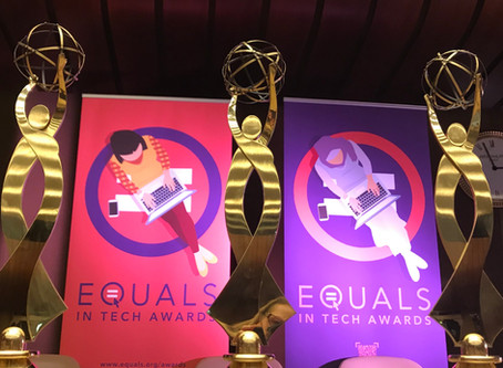 Wednesdays are for Winners: Celebrating five years of the EQUALS in Tech Awards