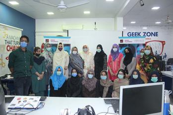 Karachi Workshop group photo