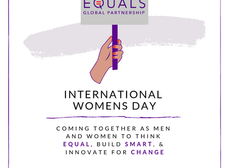 EQUALS celebrates International Women's Day 2019