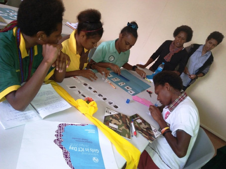 Papua New Guinea celebrates Girls in ICT Day
