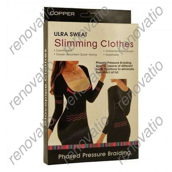 Корректирующая майка, эффект сауны Ultra Sweat Slimming Clothes
