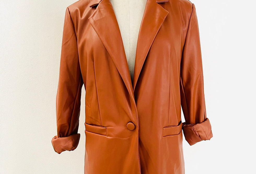 Jacket Cuerina Clásica