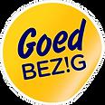 GB-sticker-hoekje gedraaid transparante