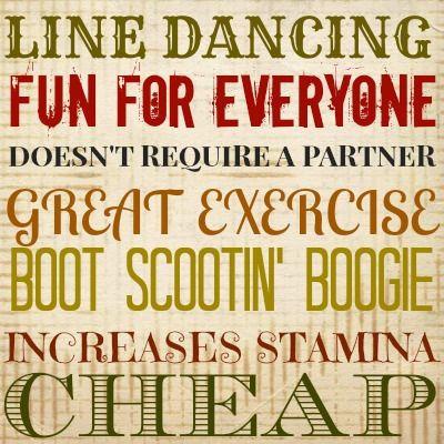 Line Dancing/per session