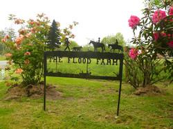 Flood Farm Sign