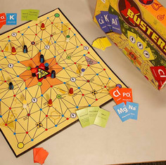 X-buster board game