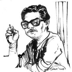 Satish Bahdur portrait