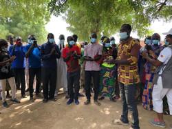 Visite des actions citoyennes (aménagement des berges du Mayo, Cameroun)