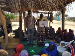 Séance SMPS à Nguigmi (Niger)