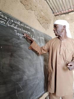 Centre d'alphabétisation à Chéri (Niger)