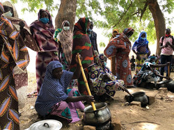 Visite d'échanges avec le groupe AVEC multiculturel de Maoudine (Cameroun)