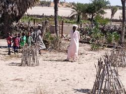 Bénéficiaires sur le site de Ngolio (Tchad) © ACF