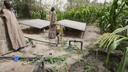 Installation de panneaux solaires à Ngarangou (Tchad)