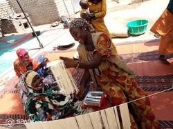 Transformation alimentaire de spaghettis à Bol (Tchad)