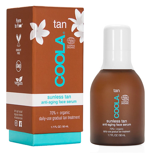 Coola Organic Sunless Tan Anti-Aging Face Serum 50 ml