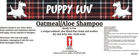 Oatmeal Aloe Shampoo