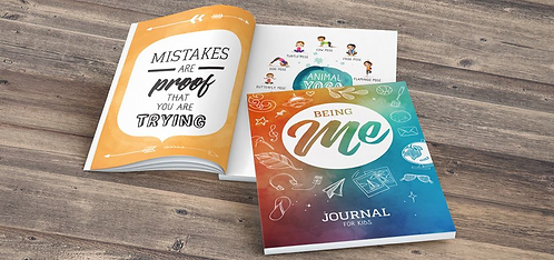 Being Me journal for Kiwi kids