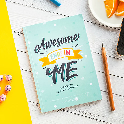 Donate a copy of Awesome Ends in me journal