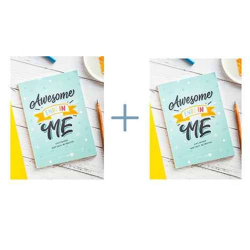 Give one Get one: Awesome ends in me journal