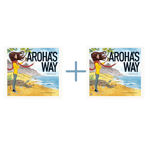 Give one Get one: Aroha's Way - A Children's Guide through Emotions