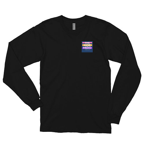 The HOP NERD Logo Long sleeve t-shirt