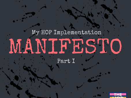 My Introductory HOP Implementation Manifesto