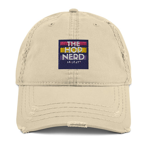 "The ""Distressed Nerd"" Dad Hat"