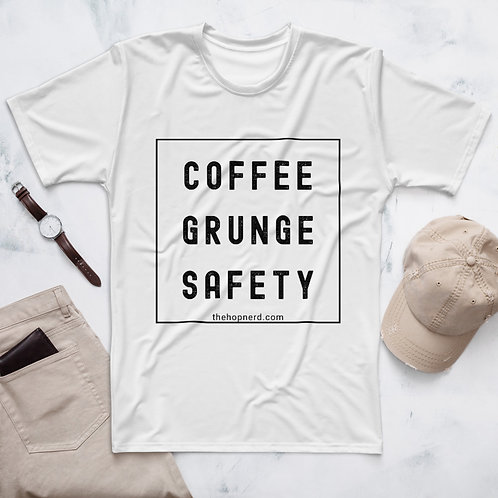 COFFEE | GRUNGE | SAFETY - Men's Tee