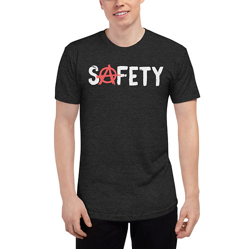 The Recovering Safety Pro Unisex Tri-Blend Track Shirt