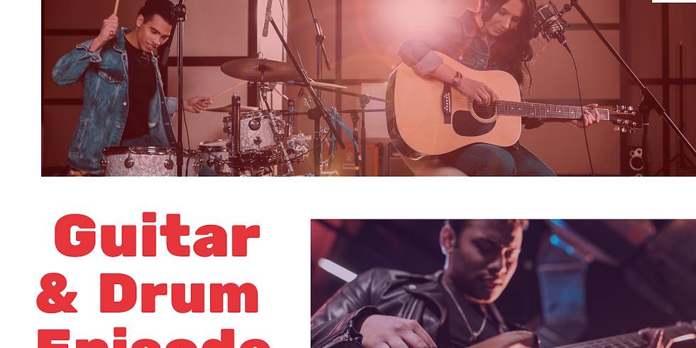LIVE:  The Guitar & Drums Episode w/ Sheldon Primus