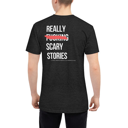 REALLY F**KING SCARY STORIES LOGO TEE