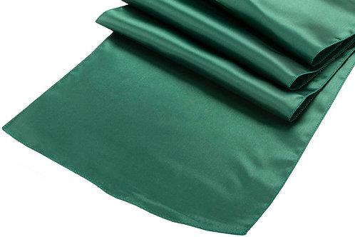 emerald satin runners