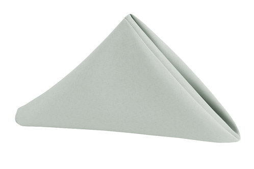 grey polyester napkin 20x20
