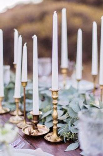 Gold Vintage Candlestick Holders