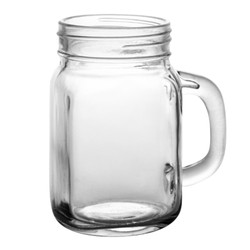 12 oz mason jar mug