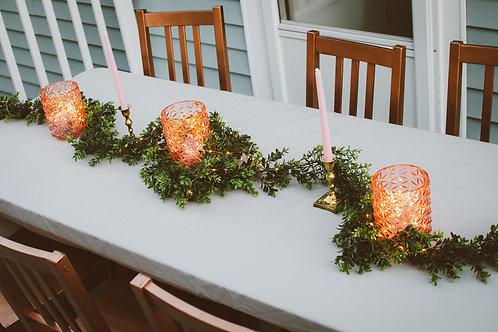 Table Decor Greenery