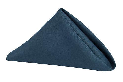 navy polyester napkin 17x17